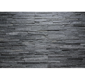 Saunaispa | Aitokivi BLACK QUARTZITE WATER WALL