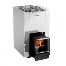 Saunaispa | Дровяная печь Harvia 22 SL Steel (26.1 кВт)
